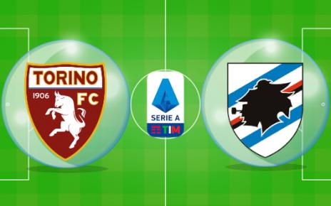 วิเคราะห์บอลวันนี้ [ กัลโช่ เซเรียอา อิตาลี ] โตริโน่ VS ซามพ์โดเรีย